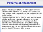 patterns of attachment1