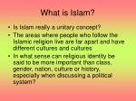 what is islam1