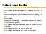 references web1