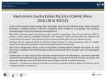 kievits kroon country estate pty ltd v ccma others 2011 32 ilj 923 lc