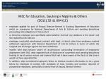 mec for education gauteng v mgijima others 2011 32 ilj 604 lc