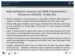 num and maloma v samancor ltd meibc stemmett n o sca case no 625 2010 25 may 2011