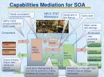 capabilities mediation for soa2