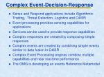 complex event decision response2