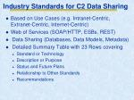 industry standards for c2 data sharing1