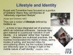 lifestyle and identity