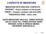 3 aspects of mediators