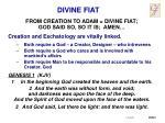 divine fiat