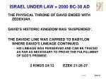 israel under law 2000 bc 30 ad14
