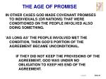 the age of promise5