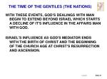 the time of the gentiles the nations1