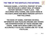 the time of the gentiles the nations3