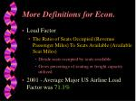 more definitions for econ