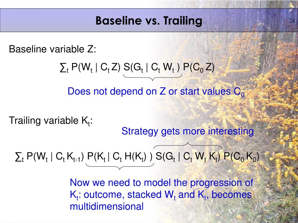 Baseline vs. Trailing