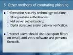 6 other methods of combating phishing