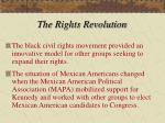 the rights revolution