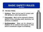 basic safety rules1