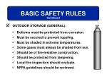 basic safety rules12
