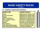 basic safety rules14