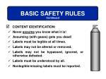 basic safety rules3