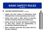 basic safety rules4