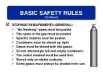 basic safety rules9