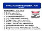 program implementation1