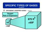 specific types of gases10