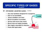 specific types of gases11