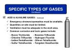 specific types of gases5