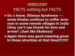 hinduism facts nothing but facts20