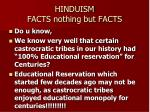 hinduism facts nothing but facts21