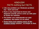 hinduism facts nothing but facts33
