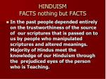 hinduism facts nothing but facts34