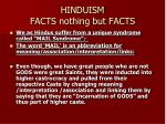 hinduism facts nothing but facts35