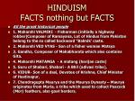 hinduism facts nothing but facts46