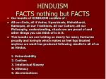 hinduism facts nothing but facts51