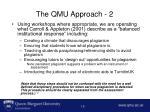 the qmu approach 2