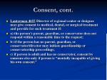 consent cont