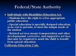 federal state authority