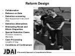 reform design