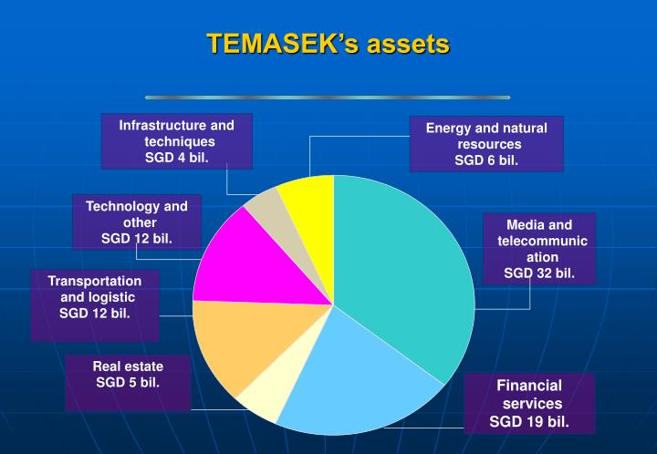 TEMASEK's assets