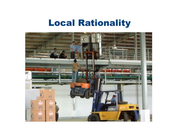 Local Rationality