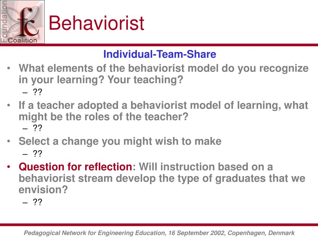 Behaviorist