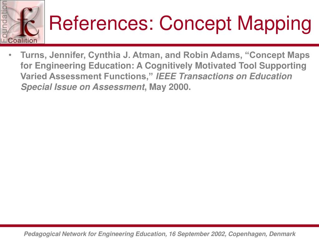 References: Concept Mapping