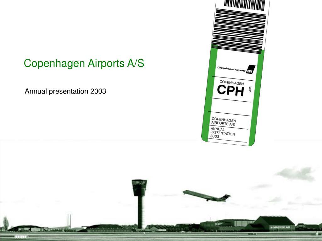 copenhagen airports a s l.