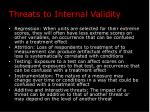 threats to internal validity1