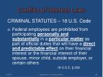 conflict of interest laws3