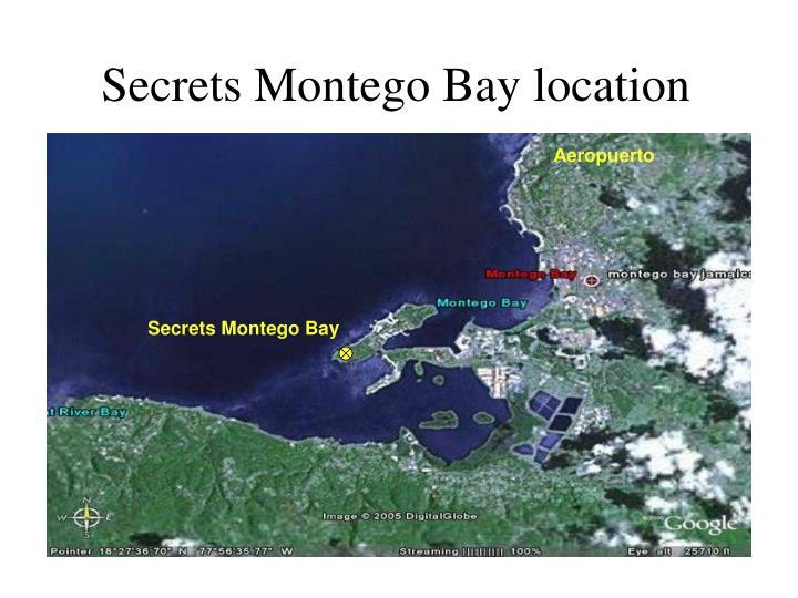 Secrets montego bay location