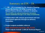 summary on i3n ja